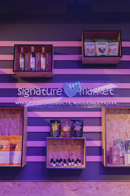 Signature Market Butterfly Coachella Party Curitan Aqalili