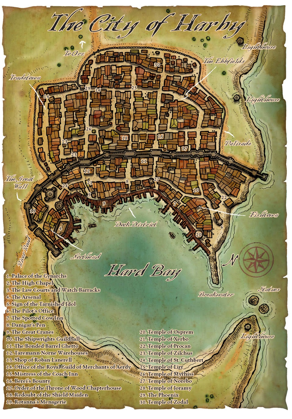 Maps Of Greyhawk: Misc Maps