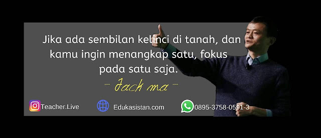 Motivasi Jack ma