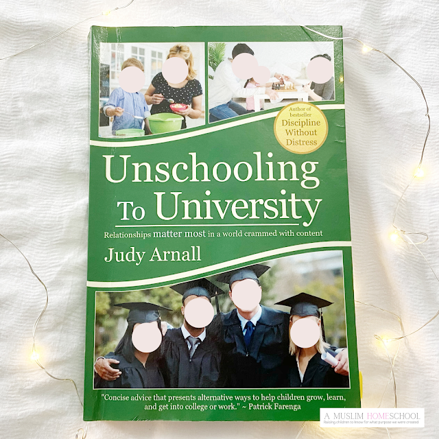 Unschooling To University - homeschool book recommendation