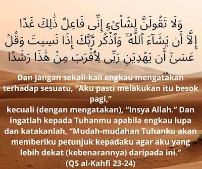 teguran Allah kepada Nabi Muhammad