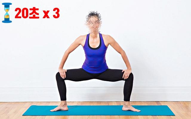 허벅지 살빼는 운동, 이너싸이 스트레칭, 다이어트 자극사진, 팁줌마, 매일꿀정보