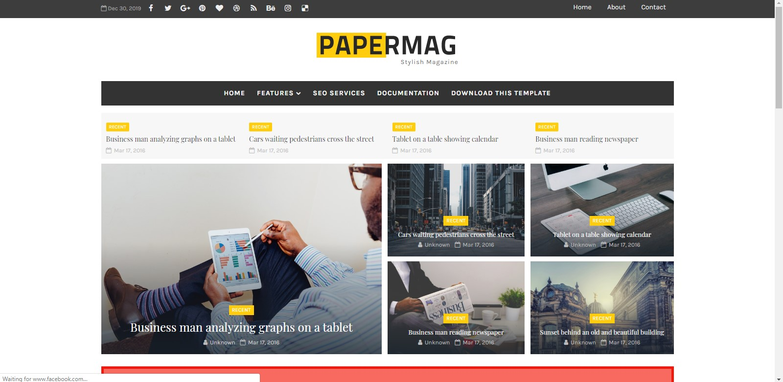 Top 20 Responsive Premium Blogger Templates Without Footer Credit 2020