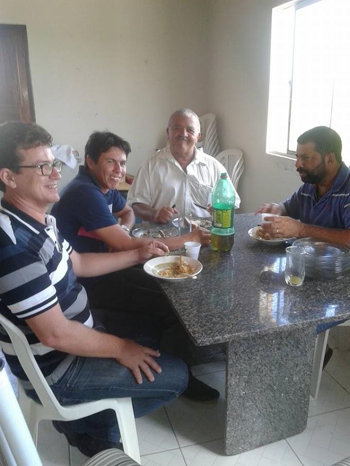 Dui do Bujão promove almoço com a presença de Manoel João, Nilton Mota, Zé Maurício e outras lideranças