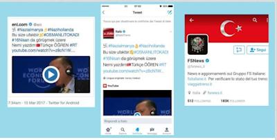 esetTwi - Violati account Twitter di ENI, Ferrovie dello stato e Italo Treno da hacker turchi - Analisi Eset -