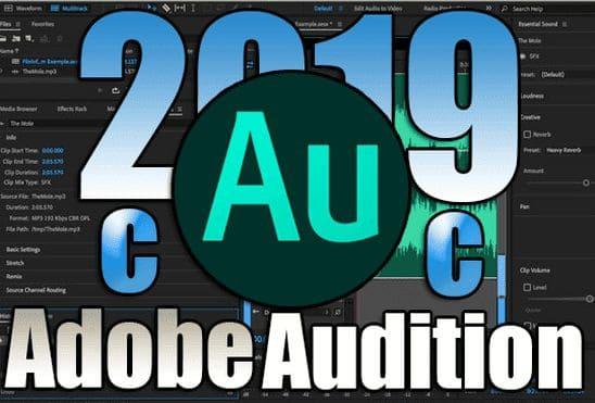 تحميل برنامج Adobe Audition CC 2019 v12.1.5.3 اخر اصدار مفعل مدى الحياة