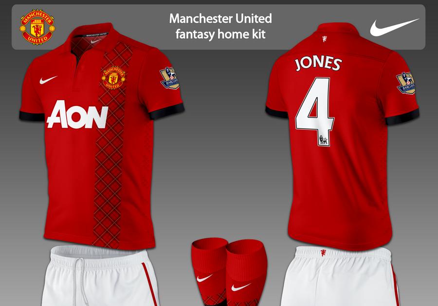 Football Kits Design: Manchester United Fantasy Kits