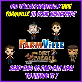 Restore Farmville Posts in Newsfeed