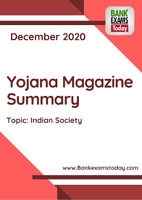 Yojana Magazine Summary: December 2020