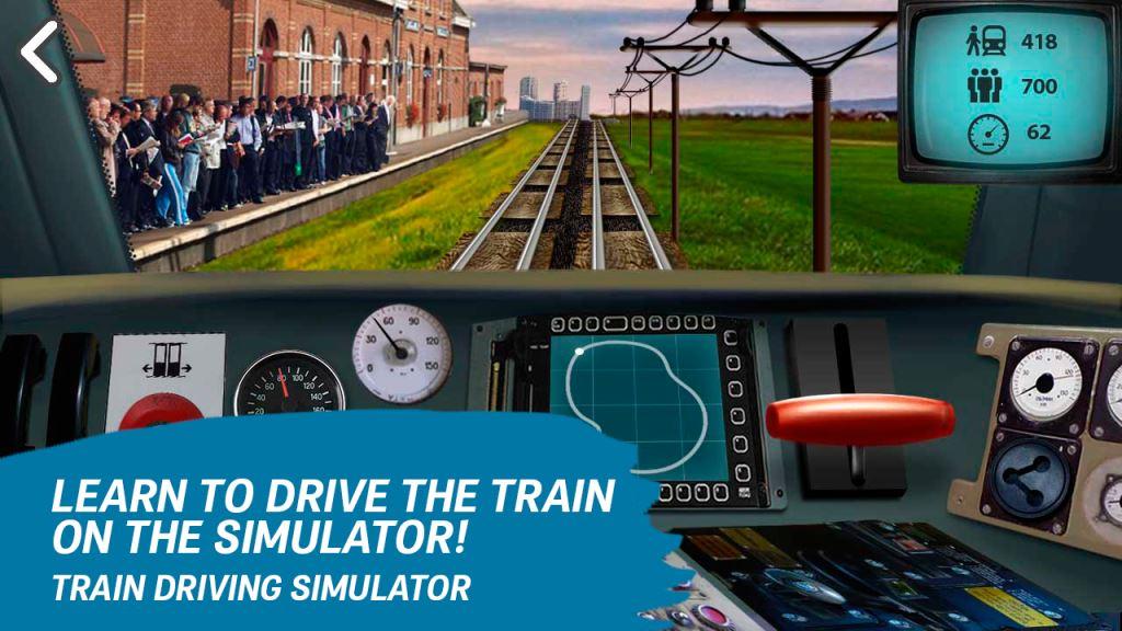 Game Kereta Api Terbaik di Android Drive Train