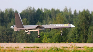 Drone Orion Rusia