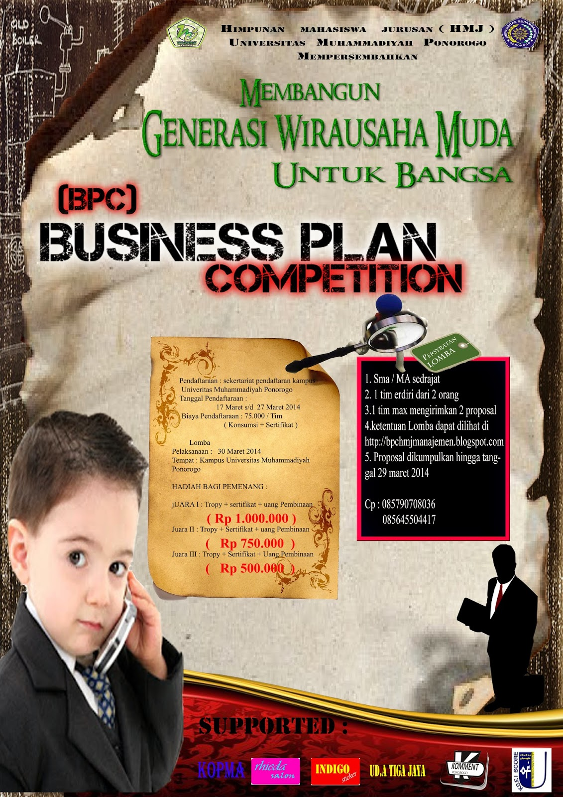 Contoh Proposal Pemenang Lomba Bisnis Plan - Gambaran