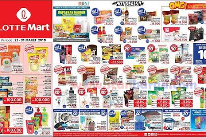 Katalog Promo LOTTEMART Jsm Weekend 25 - 31 Maret 2019