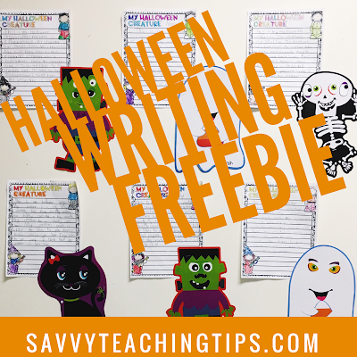 Get this cute idea for free.  Great descriptive writing activity.