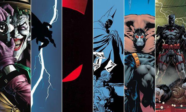 Top con los mejores títulos de cómic de Batman