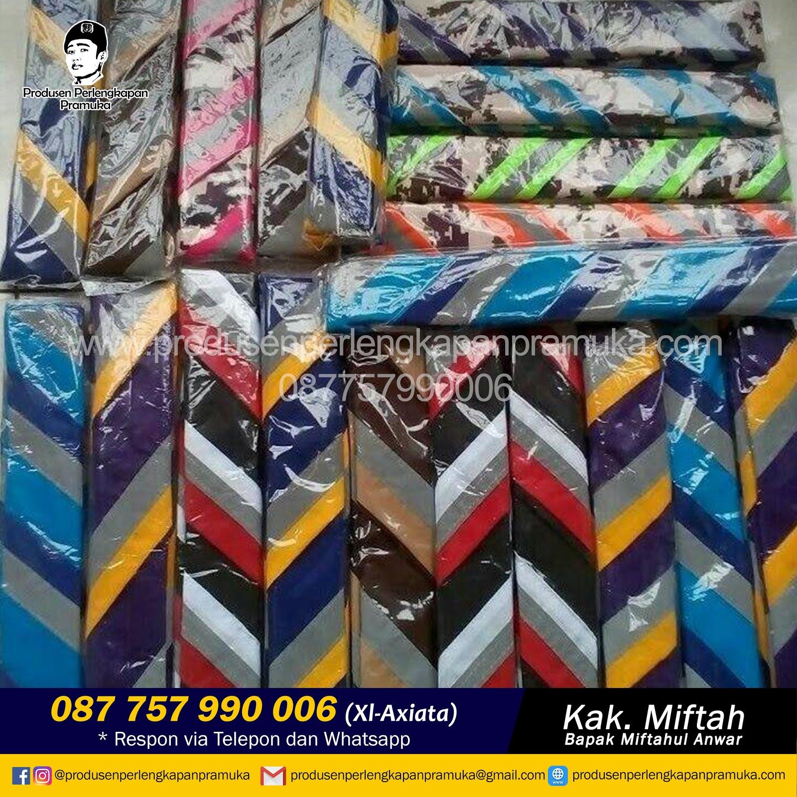 Jual Scarf Pramuka Bandar Lampung, Metro, Pangkalpinang, Batam, Tanjungpinang,