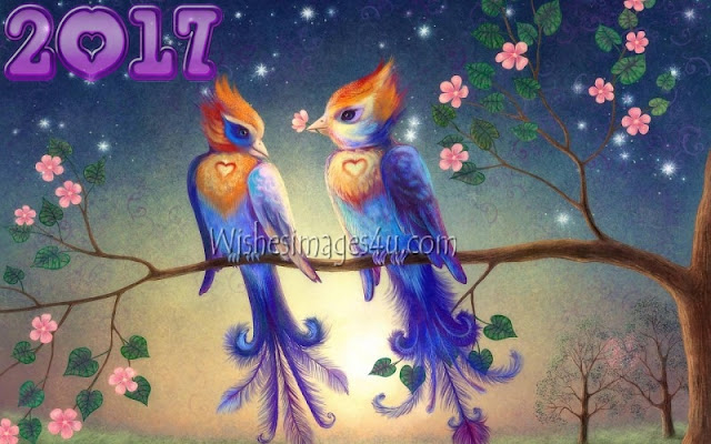 New Year 2017 HD Love Photo Wishes Greetings Download