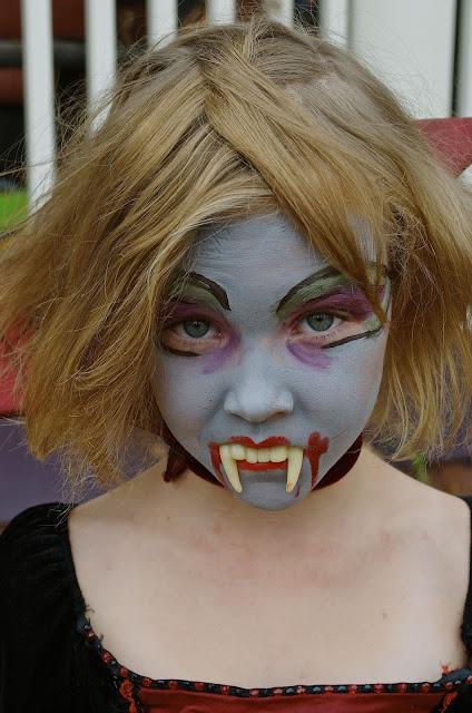 maquillaje halloween de vampira