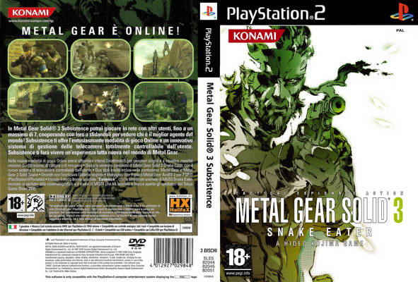 Metal gear solid 3: subsistence full game free pc, download, play.