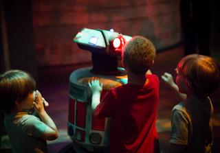 Disney Imagineering's 'Jake' Droid. Photo: Disney Imagineering Website.
