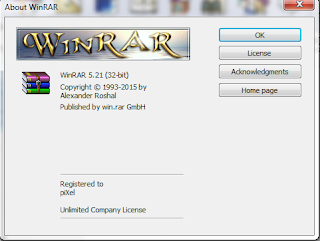 Winrar V5.21 Full Version Incl. Serial Key