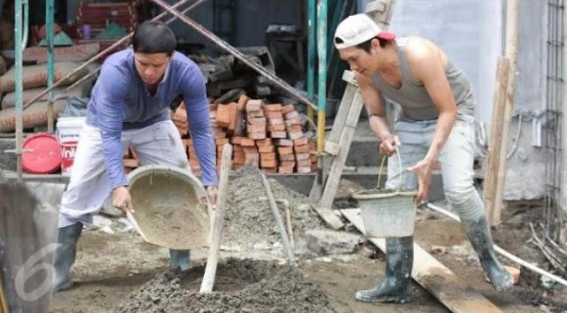 Perbedaan Antara Tukang Bangunan dan Kenek Bangunan, Ternyata Beda Pekerjaan