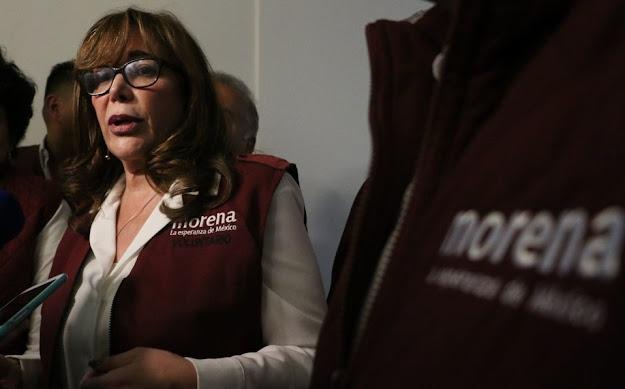 Denuncia Morena a Yeidckol Polevnsky por Lavado de Dinero por compra de inmuebles y pagos por 809 millones de pesos