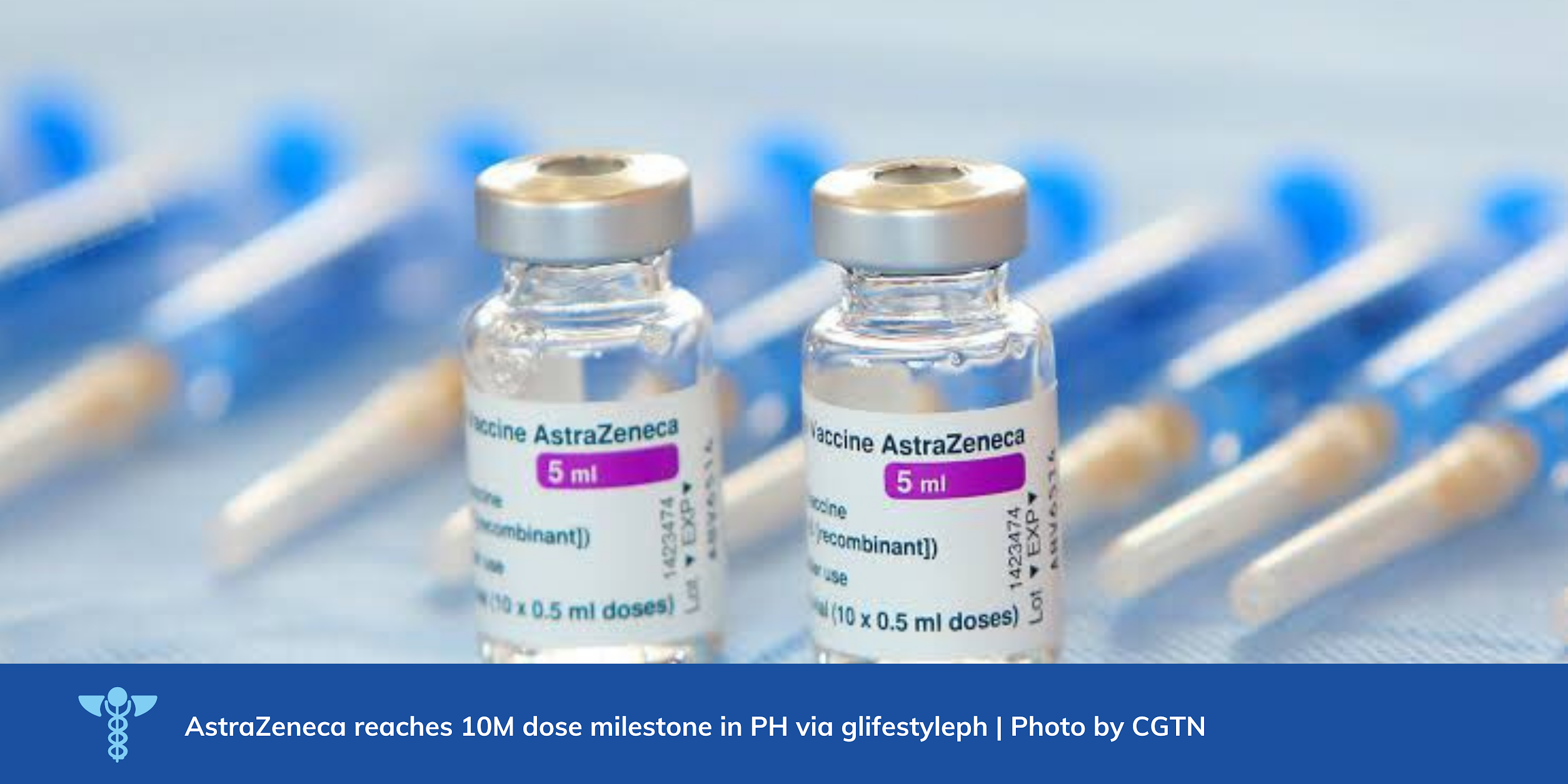 AstraZeneca delivered another 661,100 doses of COVID-19 Vaccine AstraZeneca to the Philippines in October.
