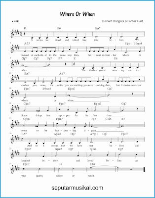 where or when lagu jazz standar