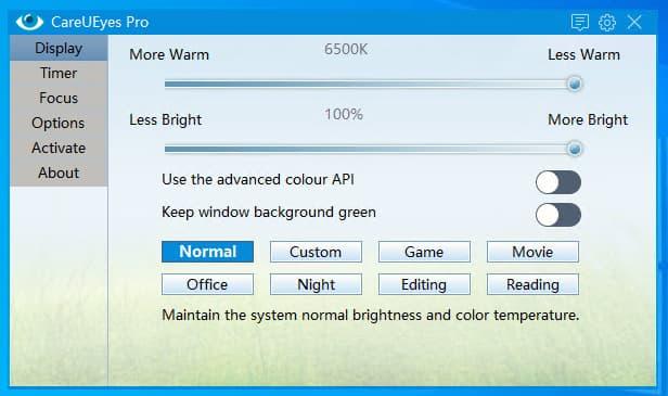 افضل 8 برامج كمبيوتر لراحة العين لتقليل الضوء الأزرق من الشاشة