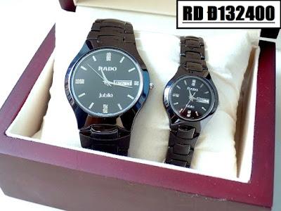 Đồng hồ đeo tay Rado Đ132400 sợi dây kết nối tình yêu của hai người