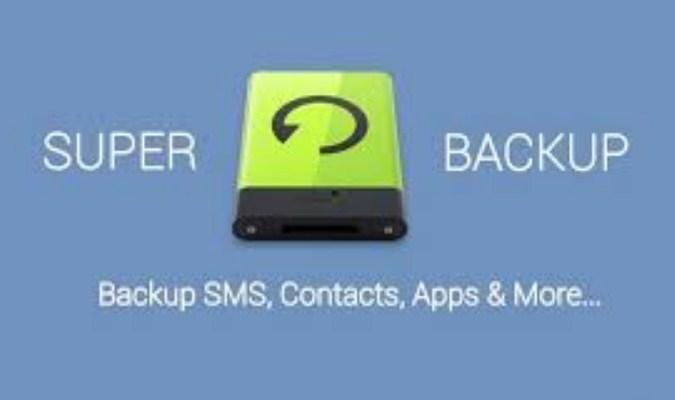 Aplikasi Backup Kontak Terbaik tuk Android - Super Backup & Restore