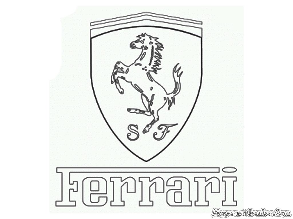 Aneka Logo Mobil Untuk Diwarnai | Mewarnai Gambar
