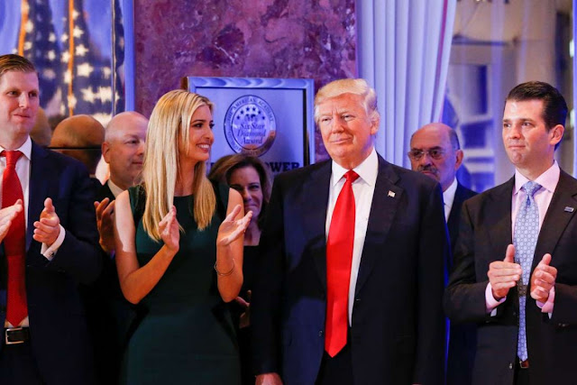 Ivanka Trump: How Jared Kushner 'would uncertainty and make jokes about Donald Trump'