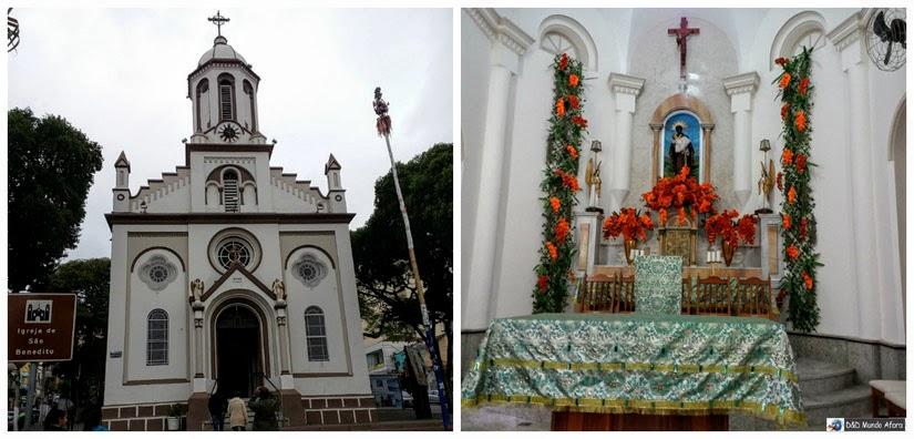 Igreja de São Benedito - o que fazer em Aparecida - São Paulo
