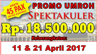 Promo Umroh April 2017