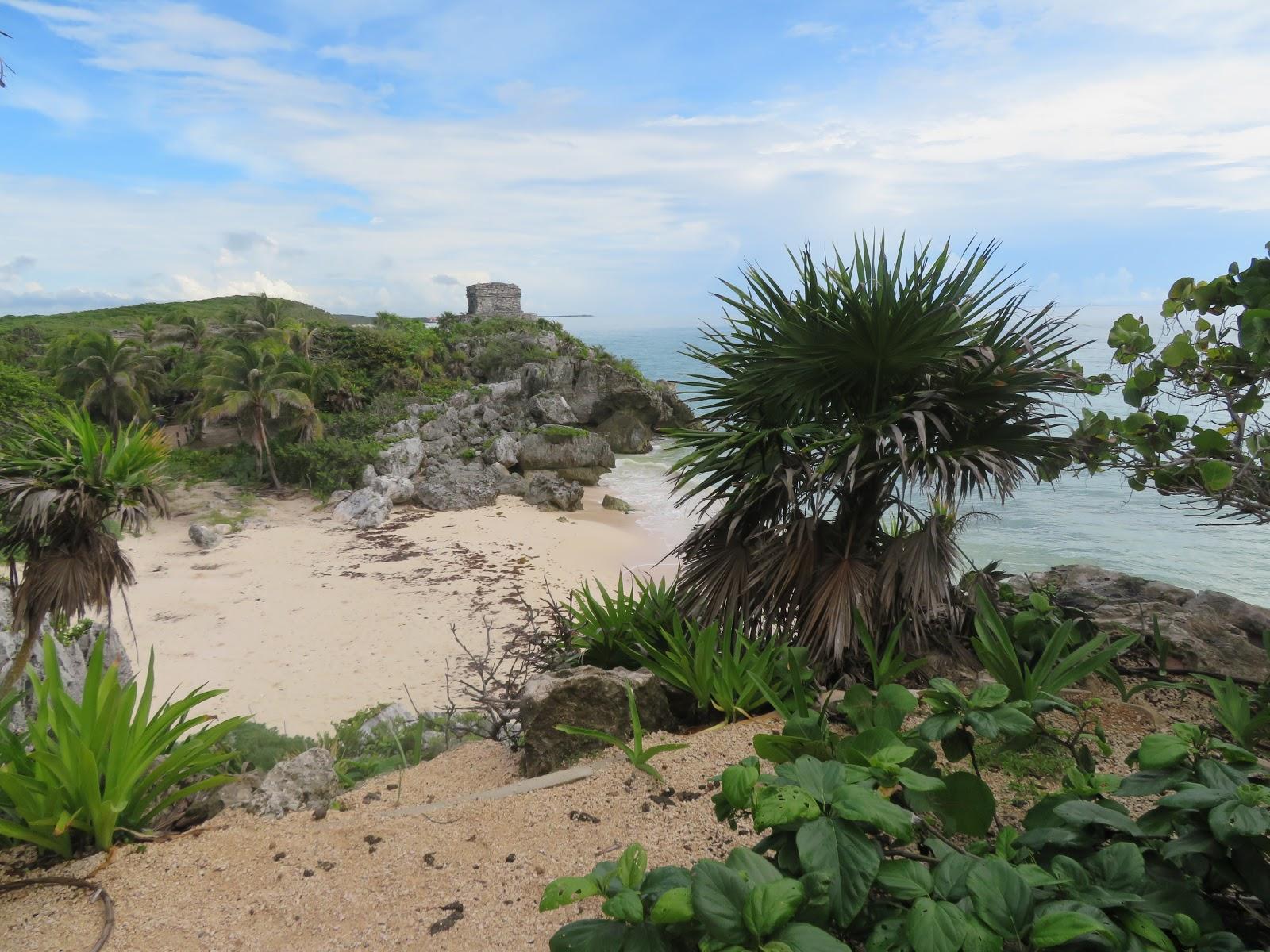 Foto Playa en las ruinas de Tulum