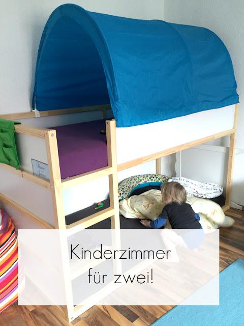 Hochbett im Kinderzimmer
