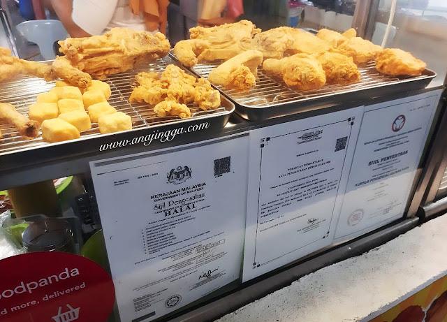 Ting Tong Ayam goreng