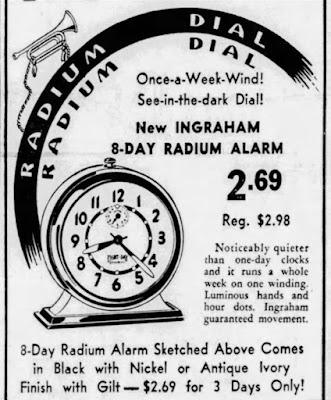 Radium Dial Clock