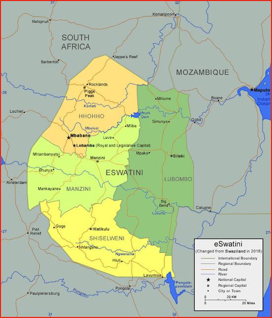 image: eSwatini (Swaziland)