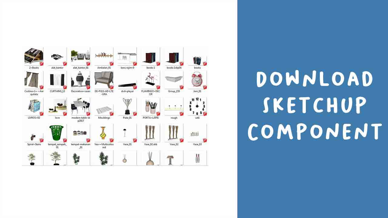 Download Component Sketchup Gratis