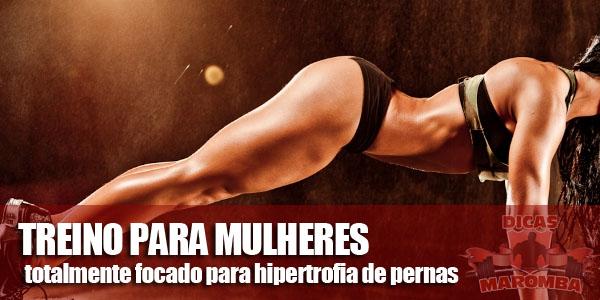 treino para mulheres
