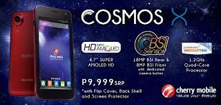Cherry Mobile reveal Cosmos X price, a SUPER AMOLED Quad core phone