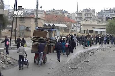 Aktivis HAM Ingatkan Warga Aleppo Untuk Tidak Melintasi Penyeberangan yang Ditawarkan Rezim