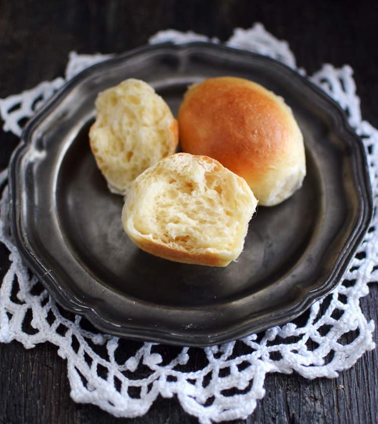 Pancitos de banquete o chips con una miga muy esponjosa