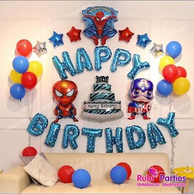 Cửa hàng bán phụ kiện trang trí sinh nhật ở Hàng Bột