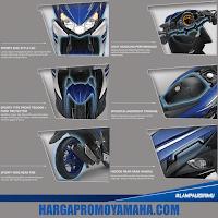 Spesifikasi dan Fitur Yamaha Aerox 125 LC