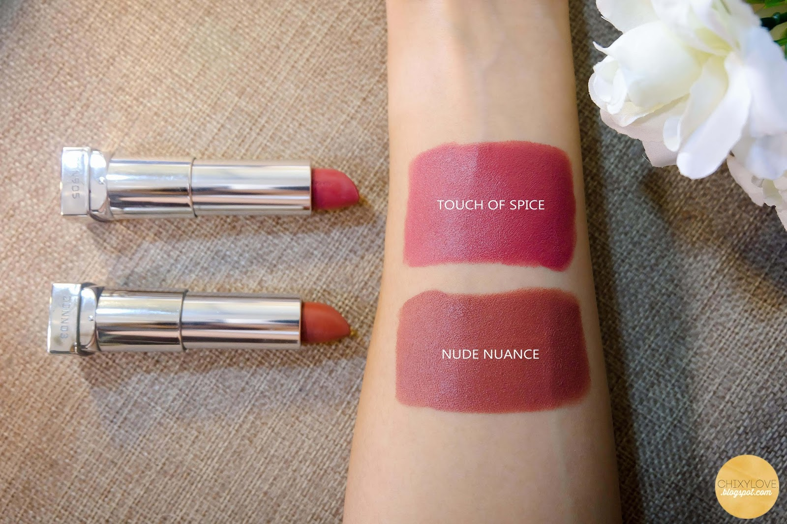 Natural Color Lipstick Maybelline