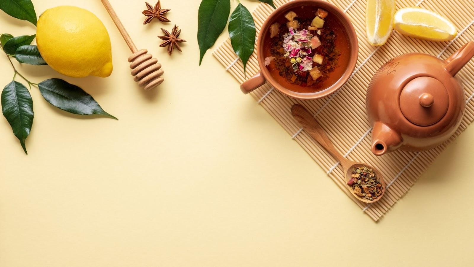 naturalne herbaty na poprawę stanu cery